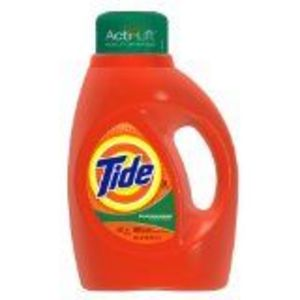 Tide with Acti-Lift Liquid Laundry Detergent, Mountain Spring Scent