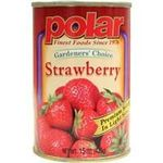 Polar Gardener's Choice Strawberry in Light Syrup