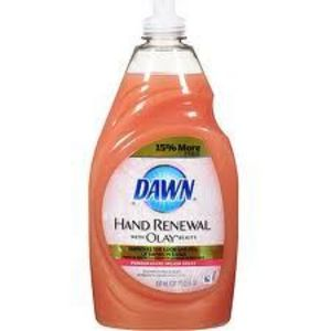 Dawn Hand Renewal with Olay Beauty Dishwashing Liquid