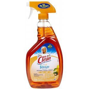 Mr. Clean Multi-Surfaces Antibacterial Spray Cleaner with Febreze Freshness
