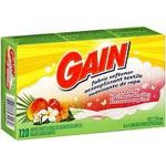 Gain Dryer Sheets, Island Fresh
