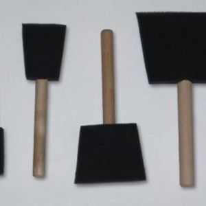 Poly Brush Foam Brushes
