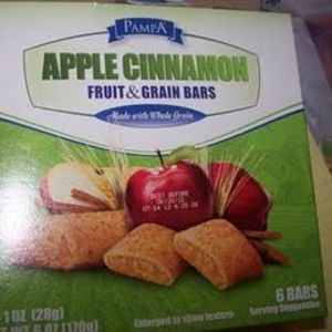 PampA - Apple Cinnamon Fruit & Grain Bars
