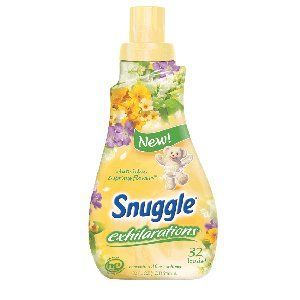 Snuggle Exhilarations White Lilac & Spring Flowers Concentrated Fabric Softener