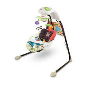 Fisher-Price Luv U Zoo Plug-in Swing