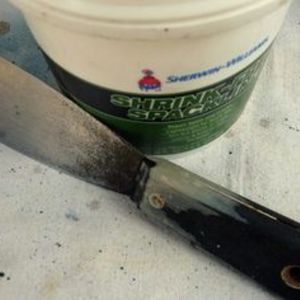Sherwin Williams Shrink Free Spackling