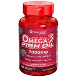 Vitamin World Omega 3 Fish Oil 1000mg
