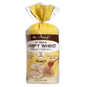 Mr. Wheat - Crispy Wheat Honey Mult--Grain Crisps