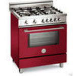 Bertazzoni X304PIRVI Dual Fuel (Electric and Gas) Range