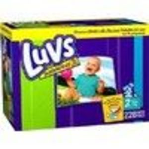 Luvs Size 2 Bear Hug Stretch Diapers - 228 Count