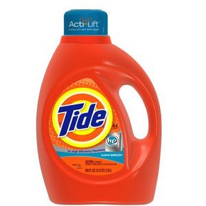 Tide with Acti-Lift Liquid Laundry Detergent, Clean Breeze Scent