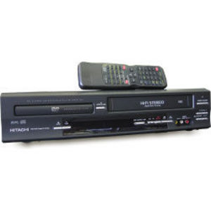 Hitachi - DV-PF33U DVD/VCR Combo (RefurbishedHitachi DV-PF33U DVD/VCR Combo (Refurbished)