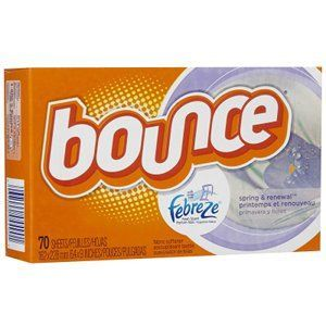 Bounce with Febreze Fresh Scent - Spring & Renewal Dryer Sheets