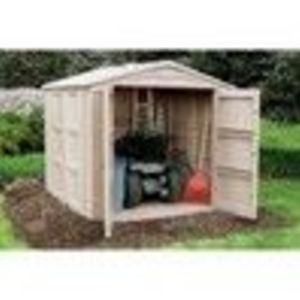"Outdoor Storage Shed - 311 Cubic Feet, 93"" 94"" 83"" (Global Industrial)"