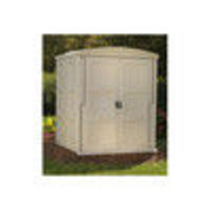 """Outdoor Storage Shed - 138 Cubic Feet, 66"""" 60"""" 83"""" (Global Industrial)"""