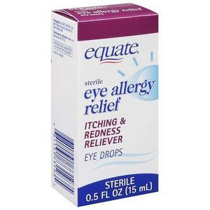 Equate Eye Allergy Relief Itching & Redness Reliever Eye Drops