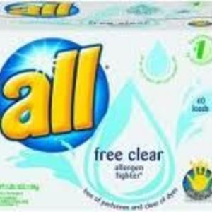 All Free Clear Powder Laundry Detergent