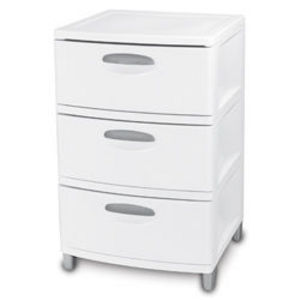 Sterilite 3 Drawer Unit 0193