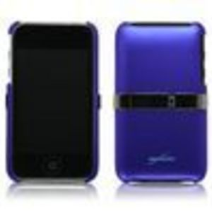 BoxWave Corporation Apple iPod touch 3G (3rd Generation) Shell Case with Stand (Super Blue)