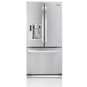 LG 24.9 cu. ft. French Door Bottom-Freezer Refrigerator LFX25978ST