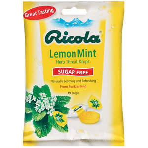 Ricola Natural Lemon Mint Herb Cough Drops