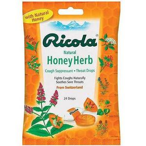 Ricola Natural Honey Herb Cough Drops
