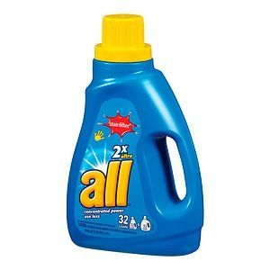 All 2x Ultra Stainlifter HE Laundry Detergent