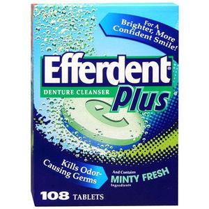 Efferdent Plus Denture Cleanser