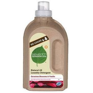 Seventh Generation Natural 4X Laundry Detergent