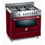 Bertazzoni X365PIRVI Dual Fuel (Electric and Gas) Range