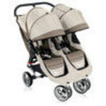 Baby Jogger CITY MINI DOUBLE Stroller - Stone/Black