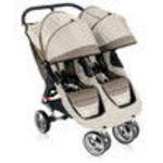 Baby Jogger CITY MINI DOUBLE Stroller - Stone/Black