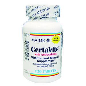 Major CertaVite with Antioxidants Tablets