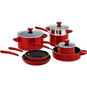 Kenmore 10-Piece Aluminum Non-Stick Cookware Set