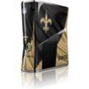 Skinit Orleans Saints Vinyl Skin for Microsoft Xbox 360 Slim (2010)