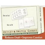 NRG Electrical Outlet & Light Switch Gasket Covers