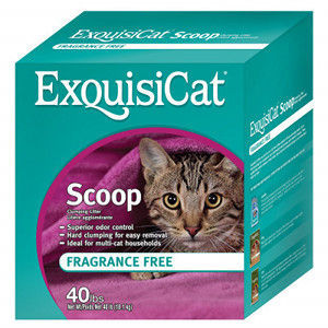 ExquisiCat Scoop Cat Litter