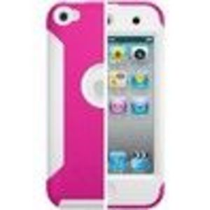 OtterBox Commuter Series Apple iPod Touch 4th Gen - Hot Pink/White Case