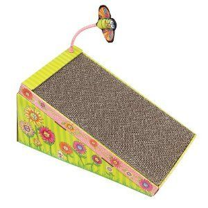 Bamboo Fat Cat Big Mama's Scratch 'n Play Ramp with Catnip