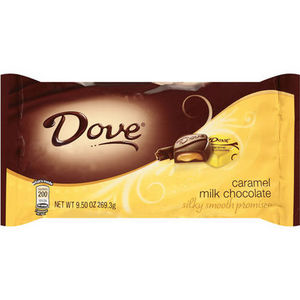 Dove Caramel Milk Chocolate Silky Smooth Promises