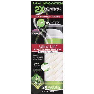 Garnier Ultra-Lift 2-in-1 Wrinkle Reducer Serum + Moisturizer