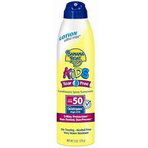 Banana Boat Kids Tear-Free Continuous Spray Sunscreen SPF 50