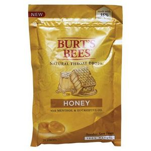Burt's Bees Natural Throat Drops, Honey
