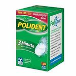Polident 3-Minute Anti-Bacterial Denture Cleanser Tablets