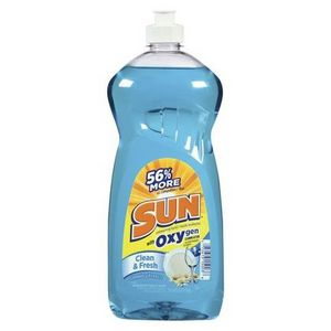Sun Sations Clean & Fresh Scent Dishwashing Liquid With Oxygen Cleaning Action