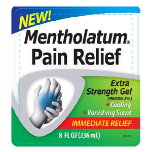 Mentholatum Pain Relief Extra Strength Gel