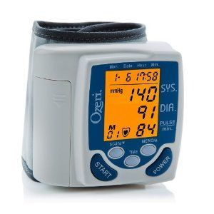 CardioTech Premium Series Digital Blood Pressure Monitor with Color Alert Technology