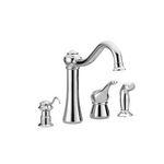 Moen Corrine Colection Single Handle High Arc Kitchen Faucet 87770SL