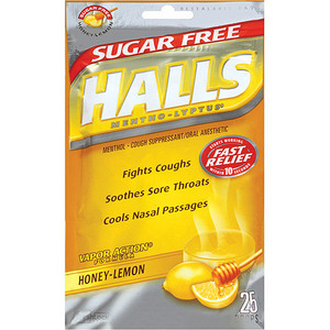 Halls Sugar Free Cough Drops