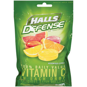 Halls Defense Supplement Drops
